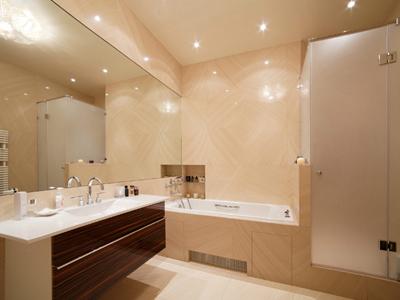 Освещение в ванне