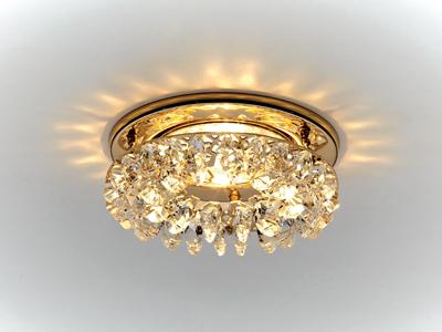 Хрустальный светильник