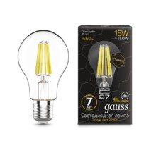 Лампа Gauss LED 102802115 Filament Graphene A60 E27 15W 2700К