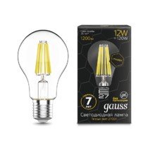 Лампа Gauss LED 102802112 Filament Graphene A60 E27 12W 2700К