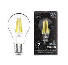 Лампа Gauss LED 102802212 Filament Graphene A60 E27 12W 4100К