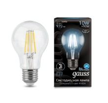 Лампа Gauss LED 102802210 Filament A60 E27 10W 4100К
