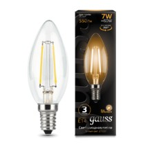 Лампа Gauss LED 103801107 Filament Candle E14 7W 2700К