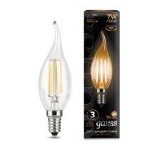 Лампа Gauss LED 104801107 Filament Candle tailed E14 7W 2700K