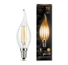 Лампа Gauss LED 104801109 Filament Candle tailed E14 9W 2700K