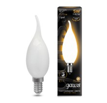 Лампа Gauss LED 104201105 Filament Candle Tailed OPAL E14 5W 2700К