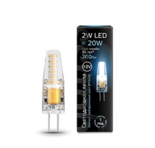 Лампа Gauss LED 207707202 G4 12V 2W 4100K
