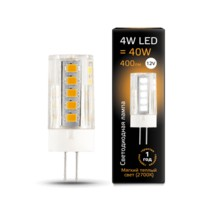 Лампа Gauss LED 207307104 G4 12V 4W 2700K керамика